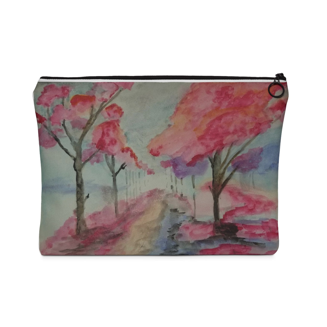 Pouch - Cherry Blossom Trees
