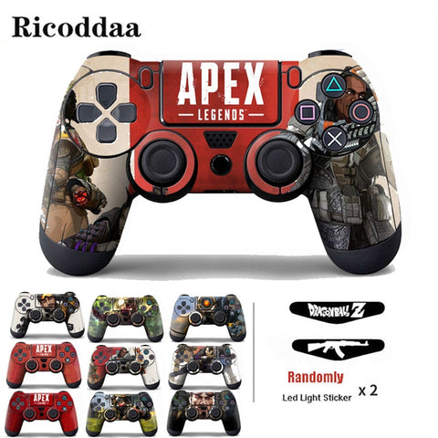 For PS4 Wireless Controller Vinyl Skin Sticker Gamepad Protective Cover Decal For Playstation 4 Controle Joystick