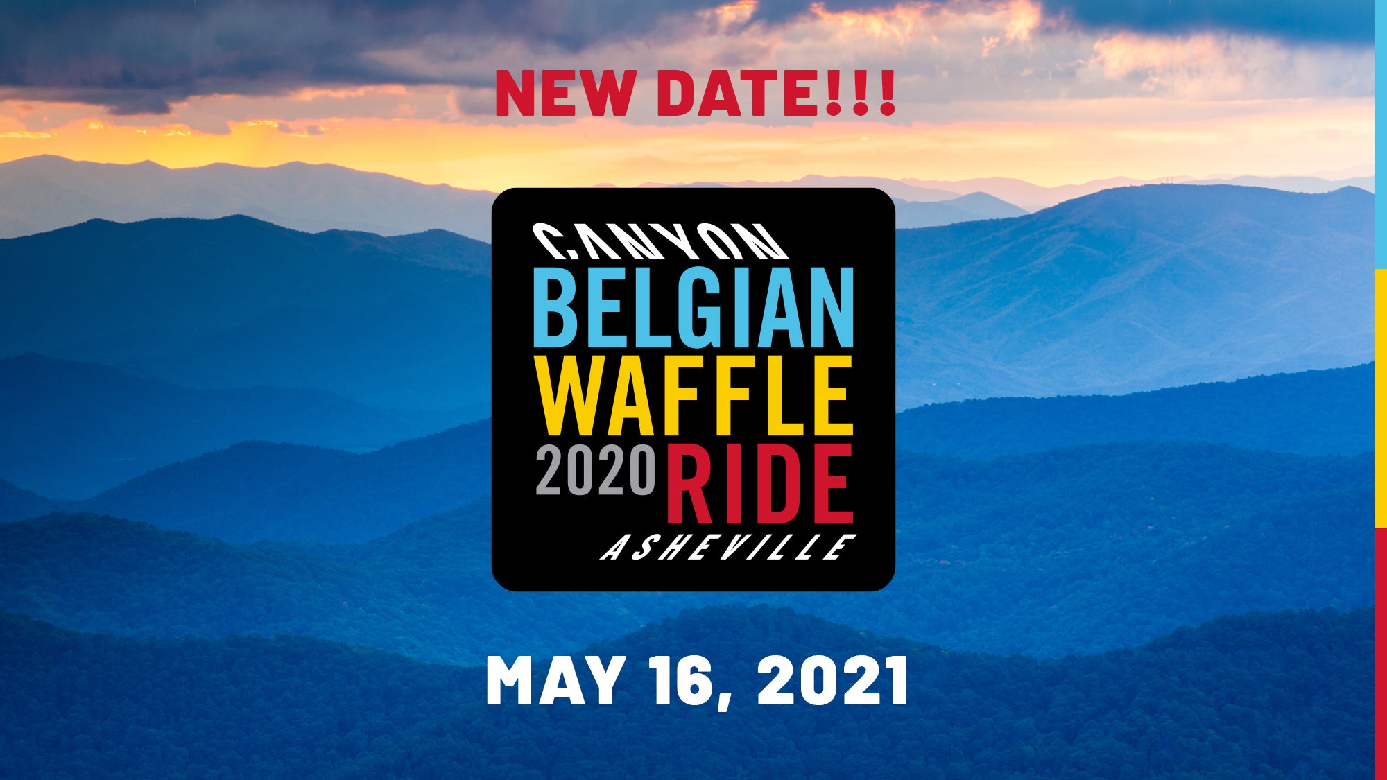 The Canyon BWR Asheville is postponed to 5/16/2021