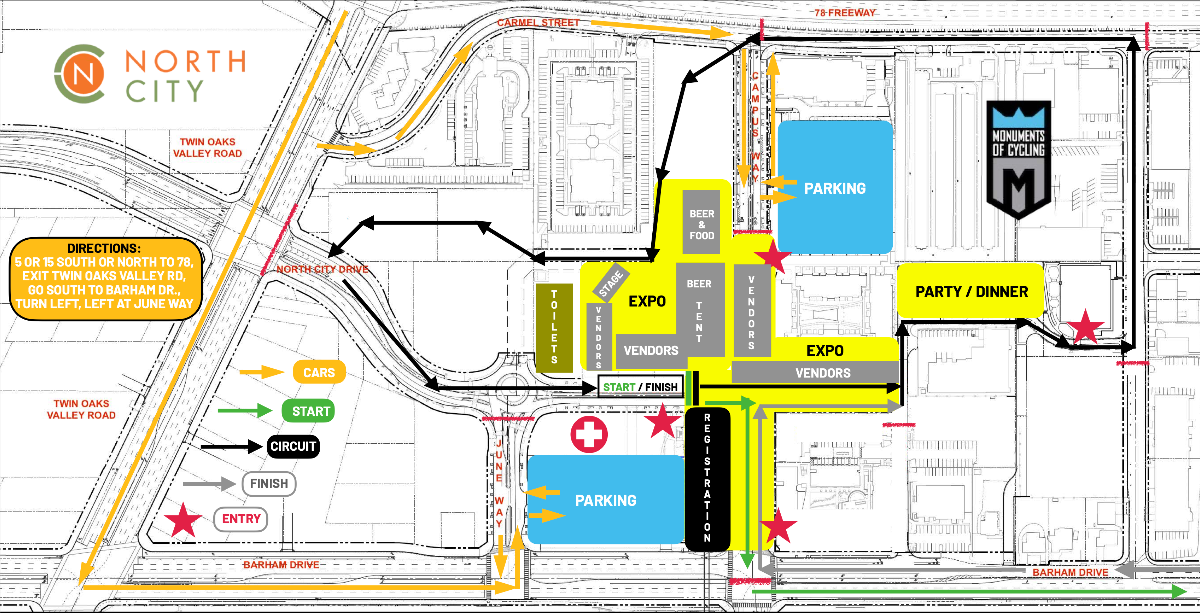 parking map one