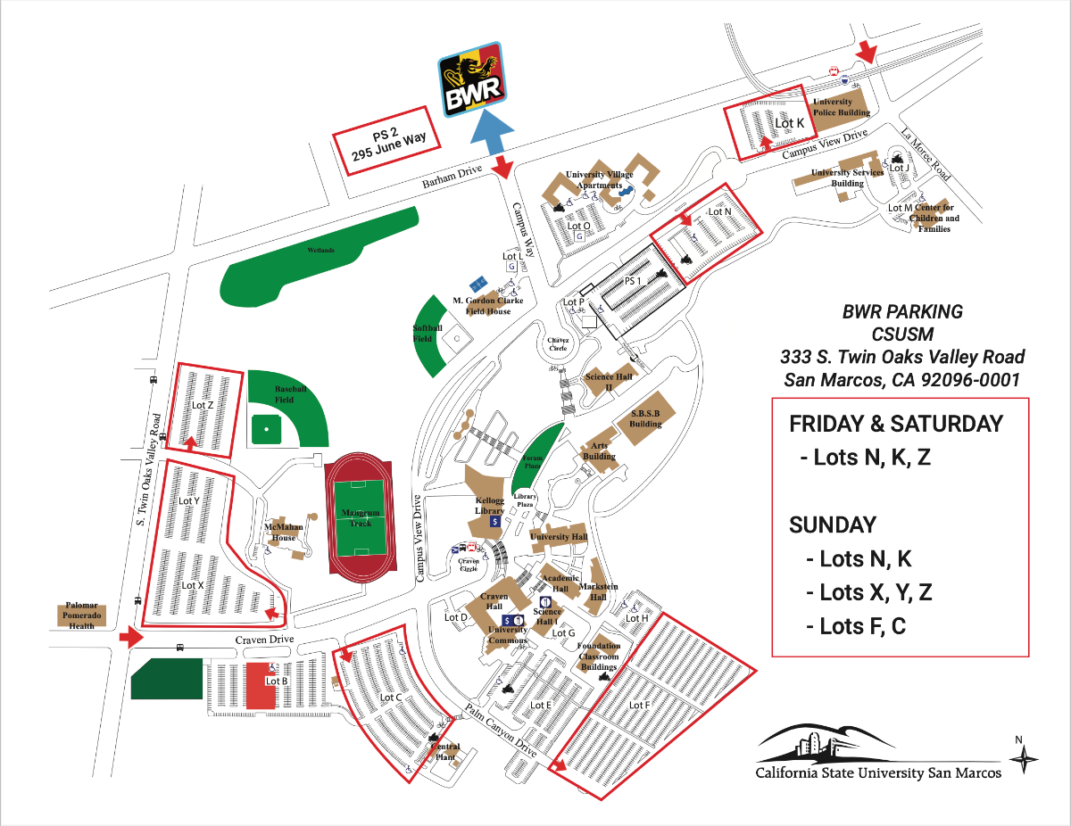 parking map two