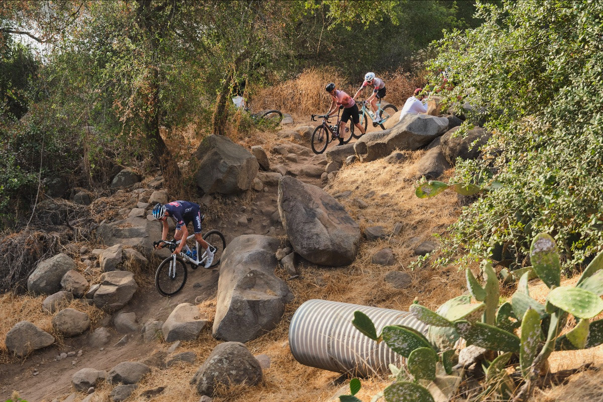 The Kakaboulet sector confronts all riders in both directions.