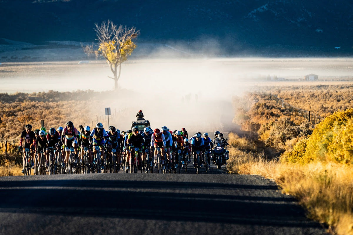 Riders on course