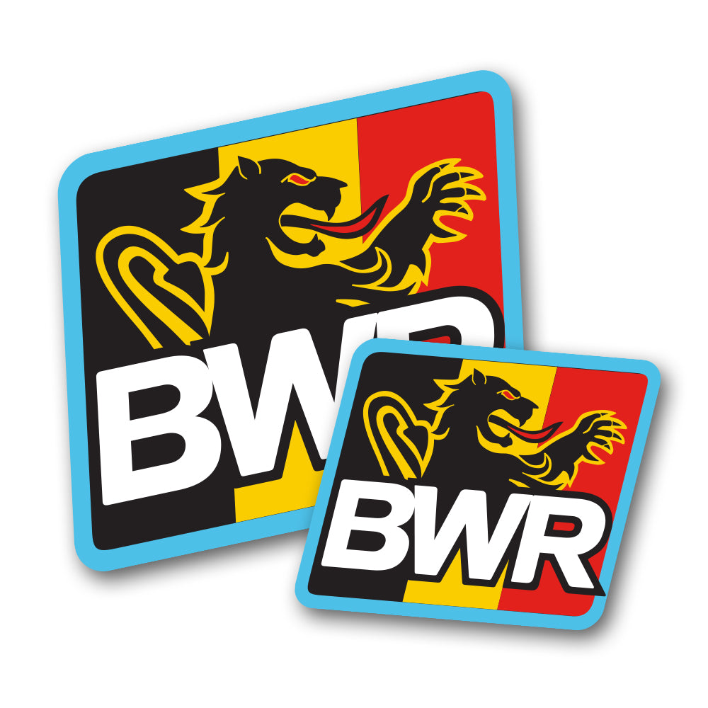 Bwr logo sticker