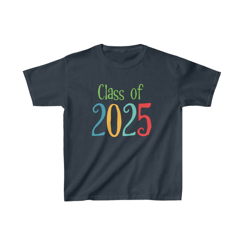 Youth Shirt Class of 2025 Graduation Boys Girls Grade School Kids - Hundredth Monkey Tees