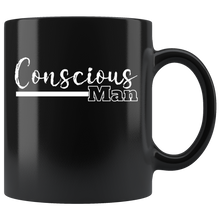 Load image into Gallery viewer, Conscious Man Coffee Mug Spiritual Path Divine Masculine Journey - Hundredth Monkey Tees