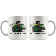Load image into Gallery viewer, Funny Lawn Mowing Coffee Mug Landscaper Dad Mug - Hundredth Monkey Tees