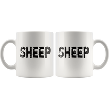 Load image into Gallery viewer, Black Sheep Coffee Mug Family Outcast Sarcastic Funny Gift - Hundredth Monkey Tees