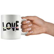 Load image into Gallery viewer, Love Yourself Coffee Mug Love Plants Animals Each Other Revolution - Hundredth Monkey Tees