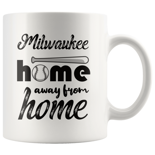 Milwaukee Baseball Coffee Mug Wisconsin Sports Fans Mug - Hundredth Monkey Tees