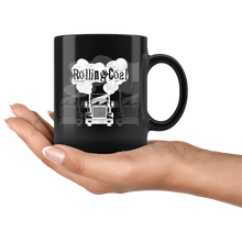 Load image into Gallery viewer, Rolling Coal Coffee Mug Trucker Diesel Semi Truck Driver - Hundredth Monkey Tees