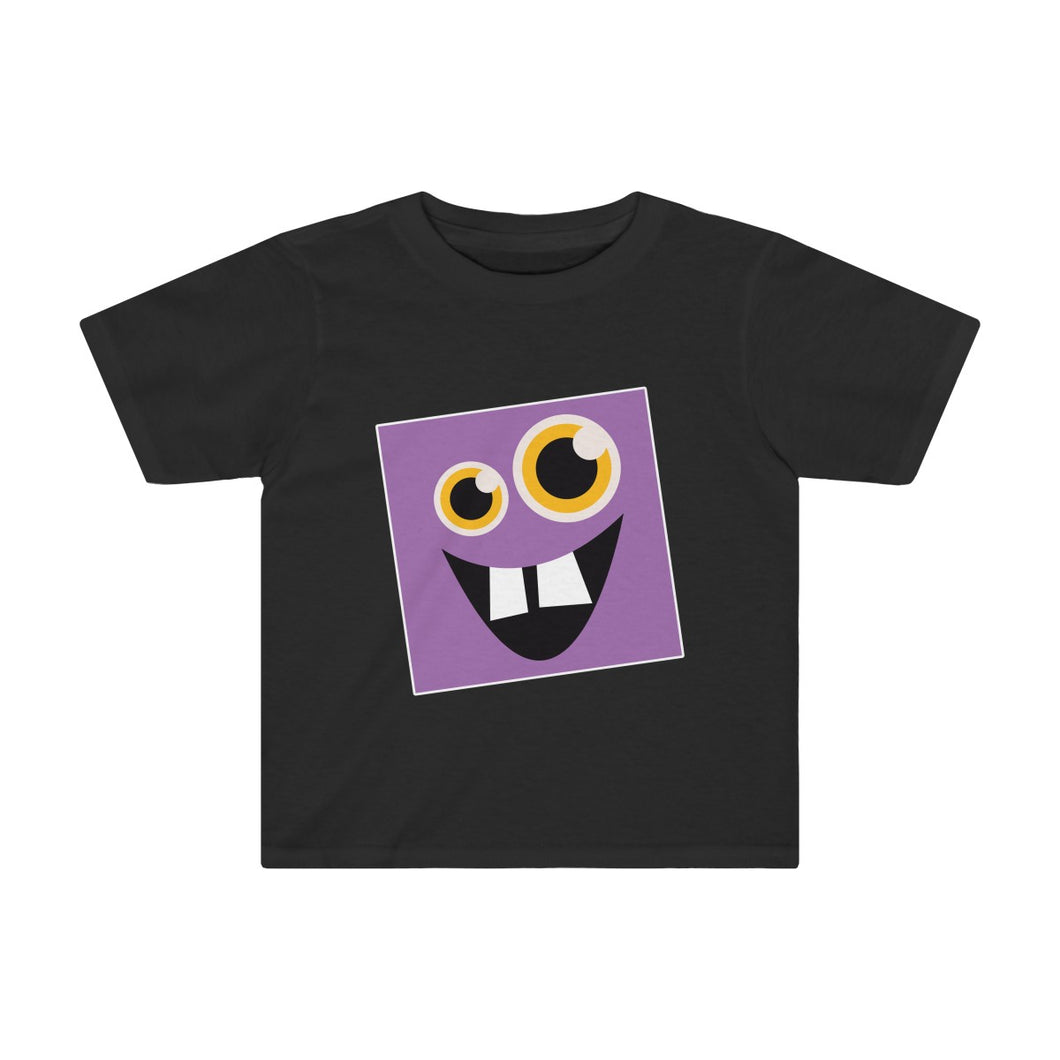 Toddler Funny Purple Monster Shirt - Hundredth Monkey Tees