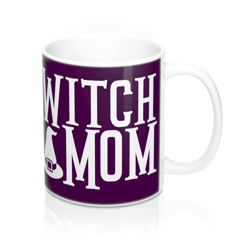 Witch Mom Cute Halloween Costume Pagan Occult Mother Coffee Mug - Hundredth Monkey Tees
