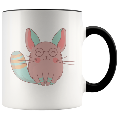 Chinchilla Mom Coffee Mug Nerdy Cartoon Pet Animal Gift - Hundredth Monkey Tees