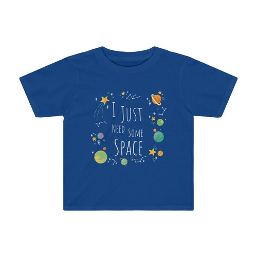 Toddler I Just Need Some Space Shirt Funny Sarcastic Planets Science Girls Boys - Hundredth Monkey Tees