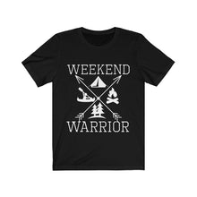 Load image into Gallery viewer, Weekend Warrior Camping Shirt Cross Arrows Men Women T-shirt - Hundredth Monkey Tees