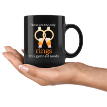 Load image into Gallery viewer, Gymnast Rings Funny Cute Gymnastics Coffee Mug - Hundredth Monkey Tees