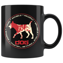 Load image into Gallery viewer, Chinese Zodiac Year of the Dog Coffee Mug Astrology Horoscope Gift - Hundredth Monkey Tees