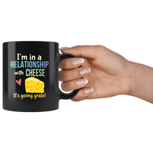 Load image into Gallery viewer, Funny Cheese Lovers Pun Coffee Mug Cheezy Joke Gift - Hundredth Monkey Tees