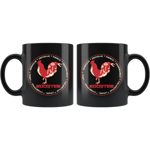 Chinese Zodiac Year of the Rooster Coffee Mug Astrology Horoscope Gift - Hundredth Monkey Tees