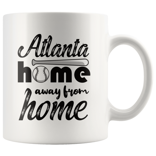Atlanta Baseball Coffee Mug Georgia Sports Fans Mug - Hundredth Monkey Tees