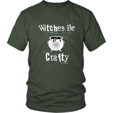 Load image into Gallery viewer, Witches Be Crafty Fun Witchcraft Tshirt - Hundredth Monkey Tees