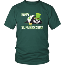 Load image into Gallery viewer, Irish Panda Happy St Patricks Day Tshirt Shamrock Leprechaun Gift - Hundredth Monkey Tees