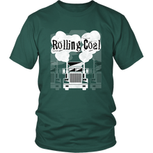 Load image into Gallery viewer, Rolling Coal Tshirt Trucker Shirt Diesel Semi Truck Driver - Hundredth Monkey Tees