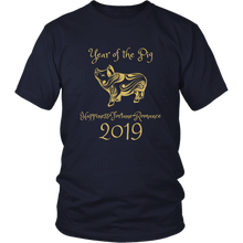 Load image into Gallery viewer, Year of the Pig Shirt 2019 Chinese New Year Zodiac T-shirt - Hundredth Monkey Tees