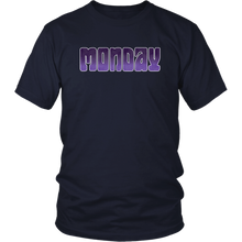 Load image into Gallery viewer, Monday Shirt Groovy Days of the Week Tshirt - Hundredth Monkey Tees