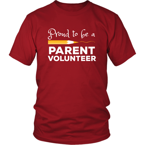 Volunteer Parent Shirt School Chaperone Staff Tshirt - Hundredth Monkey Tees