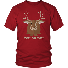 Load image into Gallery viewer, You Do You Shirt Jackalope Tshirt Cryptid Funny Cute Gift - Hundredth Monkey Tees