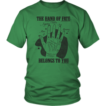 Load image into Gallery viewer, Palmistry Astrology Fate Palm Reading Tshirt - Hundredth Monkey Tees