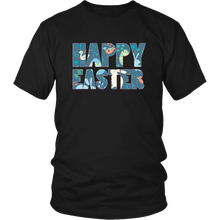 Load image into Gallery viewer, Happy Easter Shirts for Women Bunny Shirt Eggs - Hundredth Monkey Tees