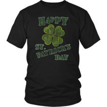 Load image into Gallery viewer, Happy St. Patricks Day Shirt Grunge Distressed Vintage Design - Hundredth Monkey Tees
