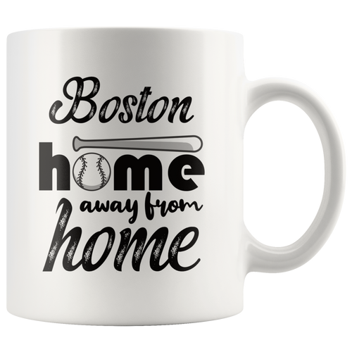 Boston Baseball Coffee Mug Massachusetts Sports Fans Mug - Hundredth Monkey Tees