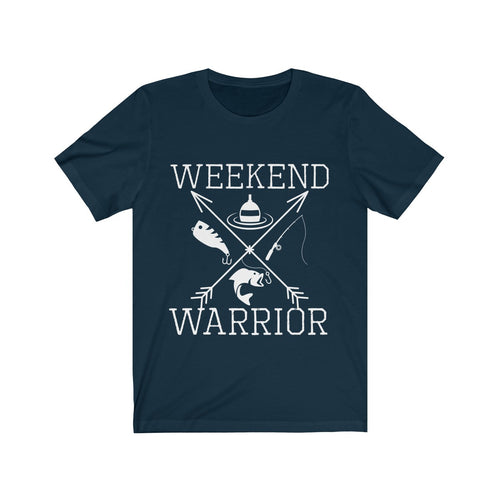 Weekend Warrior Fishing Shirt Cross Arrows Men Women T-shirt - Hundredth Monkey Tees