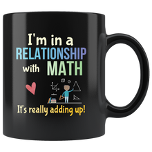 Load image into Gallery viewer, Funny Math Pun Coffee Mug Committed Relationship Teacher Nerd Math Geek - Hundredth Monkey Tees