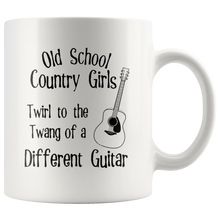Load image into Gallery viewer, Old School Country Girls Funny Coffee Mug Music Guitar Lovers - Hundredth Monkey Tees