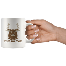 Load image into Gallery viewer, You Do You Coffee Mug Jackalope Cryptid Funny Cute Gift - Hundredth Monkey Tees