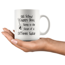 Load image into Gallery viewer, Old School Country Boys Funny Coffee Mug Music Guitar Lovers - Hundredth Monkey Tees