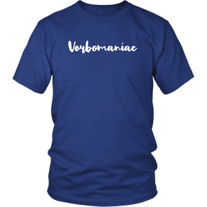 Verbomaniac Shirt for People Who Are Obsessed with Words
