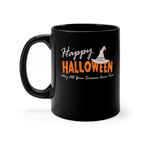 Halloween Witch Hat May All Your Screams Come True Coffee Mug - Hundredth Monkey Tees
