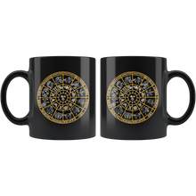 Load image into Gallery viewer, Astrology Coffee Mug Zodiac Wheel Horoscope Signs Gift - Hundredth Monkey Tees