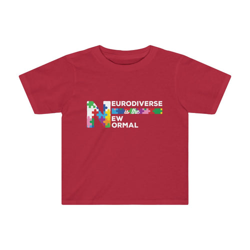 Toddler Neurodiversity Shirt Celebrate Neurodiverse is the New Normal - Hundredth Monkey Tees