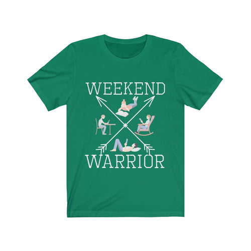 Weekend Warrior Reading Shirt Cross Arrows Men Women Book Lover T-shirt - Hundredth Monkey Tees