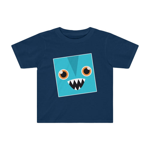 Toddler Funny Blue Monster Shirt - Hundredth Monkey Tees