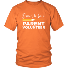 Load image into Gallery viewer, Volunteer Parent Shirt School Chaperone Staff Tshirt - Hundredth Monkey Tees