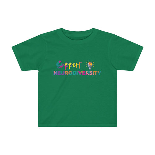 Toddler Support Neurodiversity Shirt Autism ADHD Awareness T shirt - Hundredth Monkey Tees