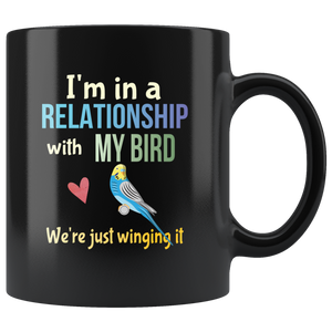 Funny Bird Lovers Pun Coffee Mug Joke Parakeet Lovers Gift - Hundredth Monkey Tees
